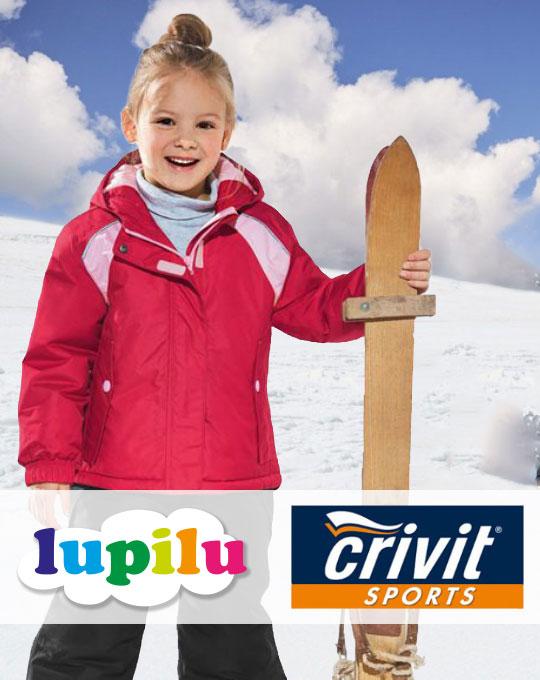 Детские лыжные костюмы Crivit - Stockhouse - одежда оптом - сток оптом