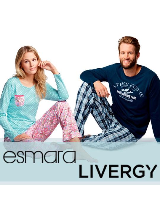 Пижамы Esmara + Livergy - Stockhouse - одежда оптом - сток оптом