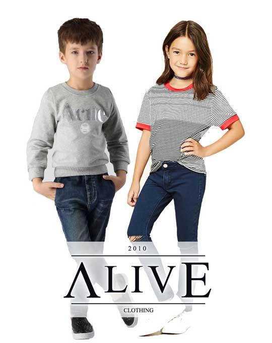 Детские джинсы  Alive