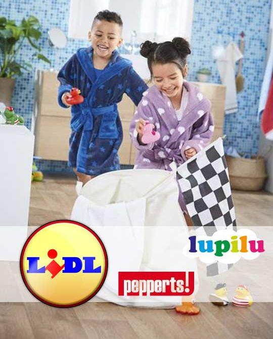 Детские махровые халаты Lupilu + Pepperts - Stockhouse - одежда оптом - сток оптом