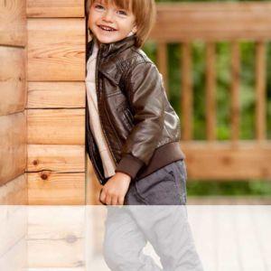 Детские кожаные куртки - Stockhouse - одежда оптом - сток оптом