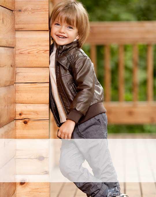 Детские кожаные куртки