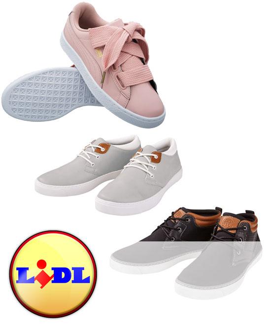 Осенняя обувь  LIDL