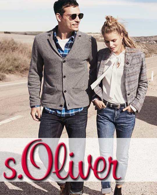 s'Oliver - сток оптом - одежда оптом - свитшоты блузки джинсы оптом