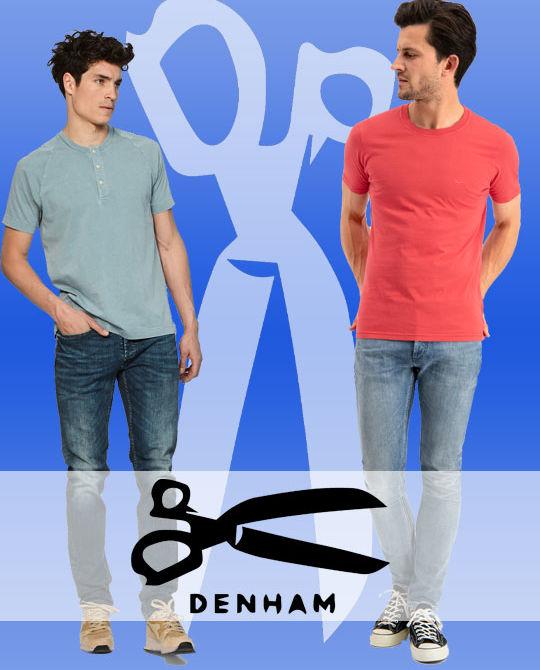 Мужские джинсы Denham - Stockhouse - одежда оптом - сток оптом