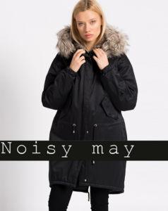 Женское пальто-пуховик Noisy May - Stockhouse - одежда оптом - сток оптом