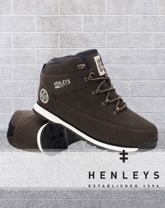 Мужские ботинки Henleys- Stockhouse - оптом обувь - сток оптом - мужская стоковая обувь