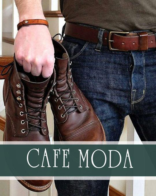 Мужские ботинки Cafe MODA