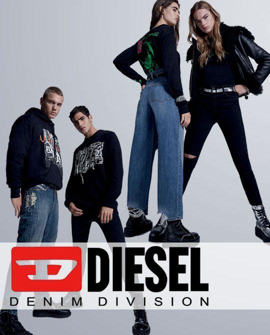 Микс Diesel jeans - Stockhouse - одежда оптом - сток оптом
