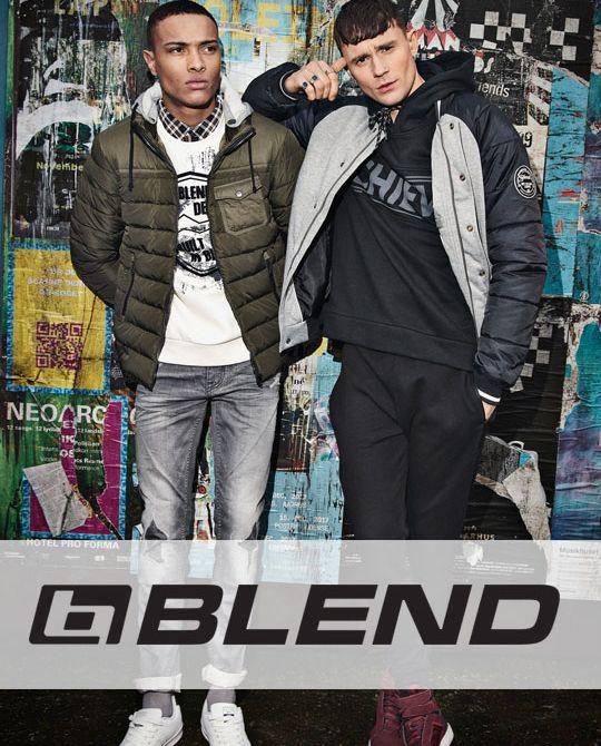 Мужские куртки BLEND - Stockhouse - одежда оптом - сток оптом