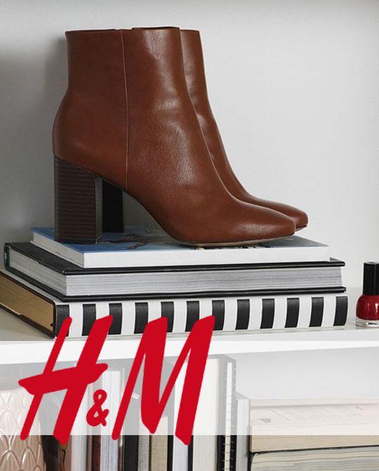 обувь H&M - Stockhouse - обувь оптом - сток оптом - купить ботинки оптом - женский и мужской сток обувь H-M