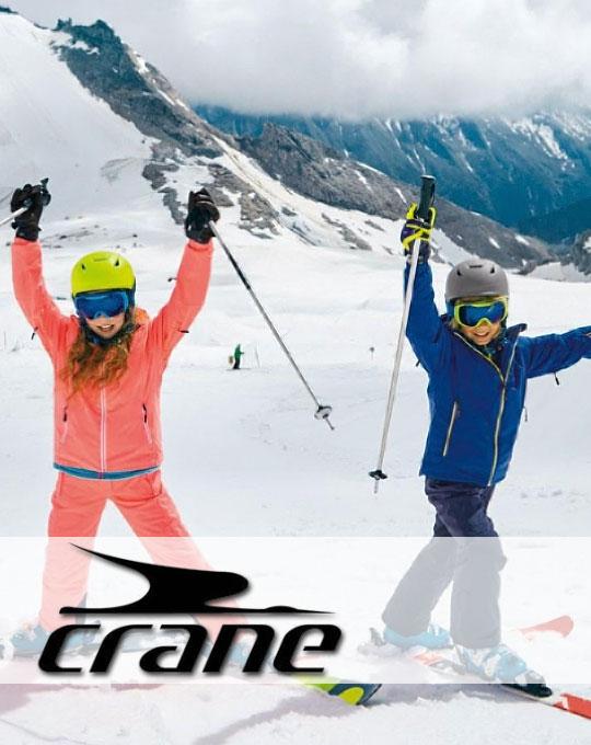 Подростковые лыжные костюмы Crane