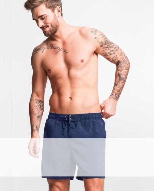 Микс мужские плавательные шорты