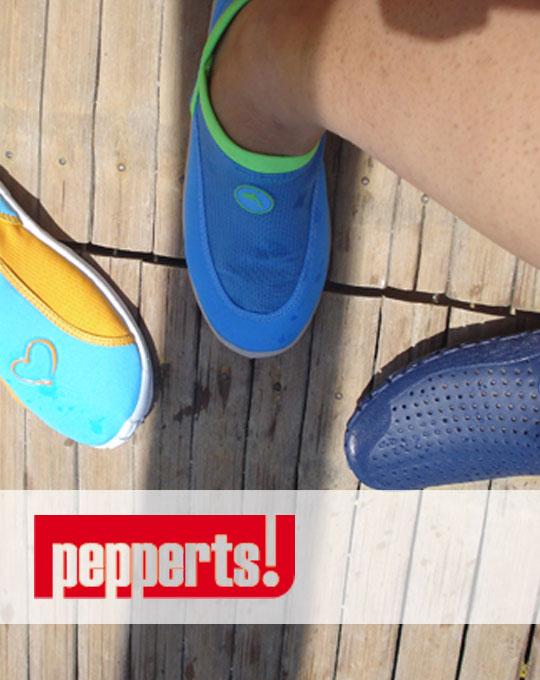 Детские тапочки для плавания Pepperts