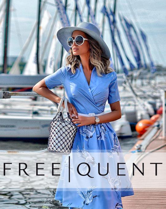 Женский Микс Freequent- Stockhouse - сток оптом - одежда оптом - футболки платья оптом