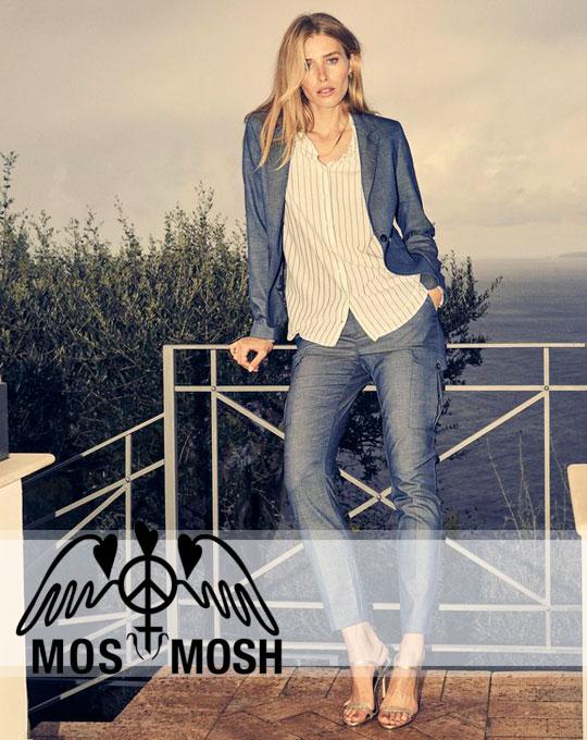 Женский микс Mos Mosh - сток оптом - одежда оптом - свитшоты блузки джинсы оптом