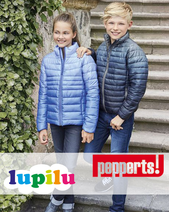 Теплые легкие куртки  Lupilu-PEPPERTS