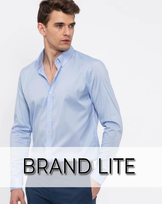 Мужские рубашки Brand Lite - Stockhouse - одежда оптом - сток оптом