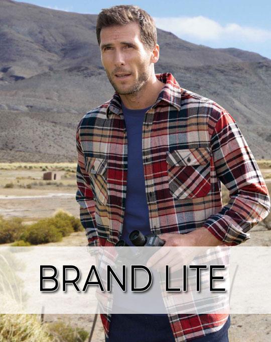 Мужские теплые рубашки Brand Lite - Stockhouse - одежда оптом - сток оптом