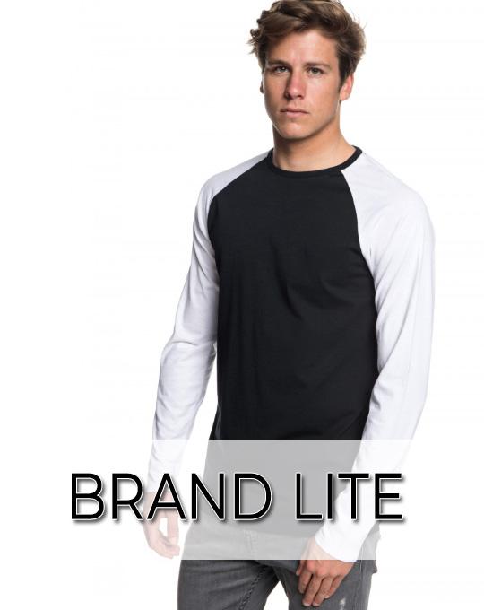 Футболка с длинным рукавом Brand Lite - Stockhouse - одежда оптом - сток оптом