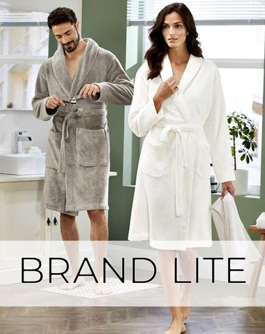 Банные халаты Brand Lite