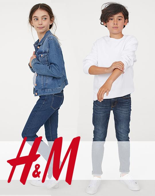 Подростковые джинсы  H&M