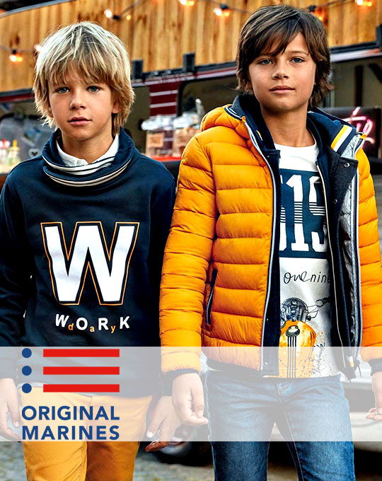 Детские куртки Original Marines