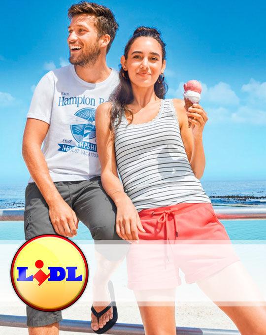 Микс футболки  LIDL