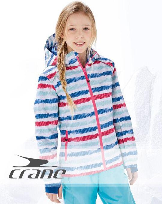 Подростковые лыжные куртки  CRANE