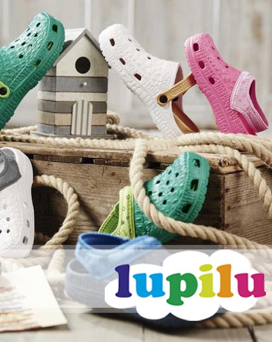Детские кроксы  Lupilu+Pepperts