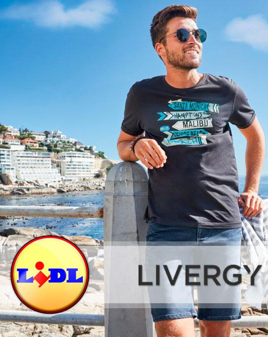 Микс мужские футболки  Livergy