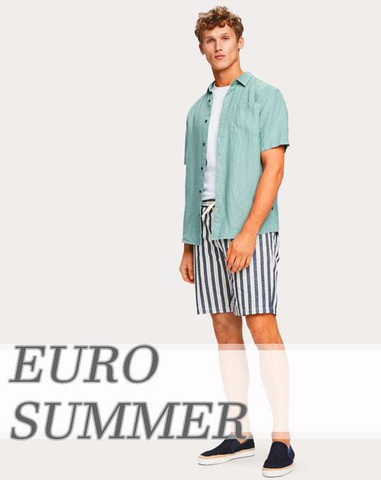 Микс EUROSUMMER - Stockhouse - сток оптом - одежда оптом - футболки шорты оптом
