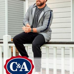 Мужские штаны C&A большие размеры - Stockhouse - одежда оптом - сток оптом