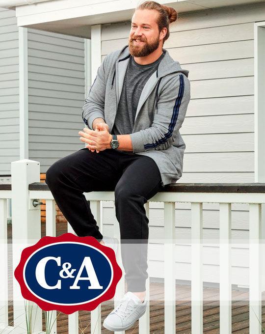 Мужские штаны C&A большие размеры