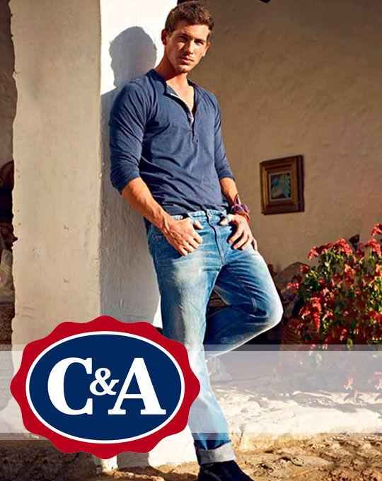 Мужские джинсы C&A