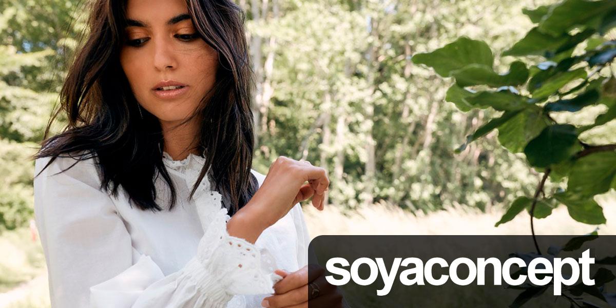 Сток оптом Soya Concept. Женский микс: свитера, кардиганы, джинсы, блузы