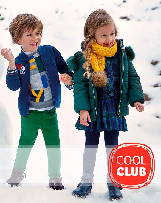 Детская стоковая одежда Детский микс COOL CLUB