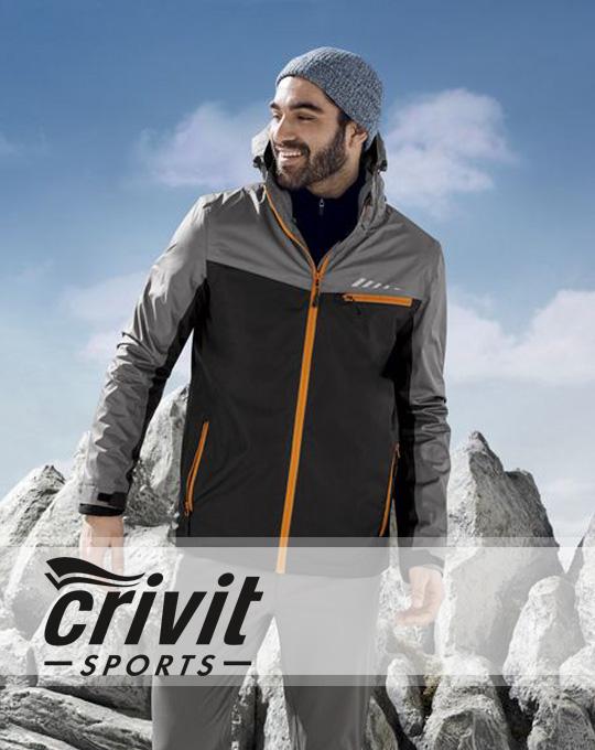 Трекинговая куртка CRIVIT