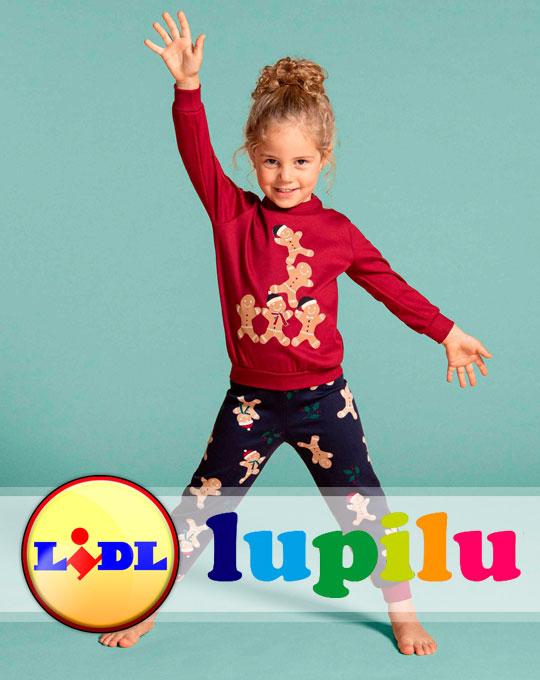 Детский Микс пижамы Lupilu-Pepperts