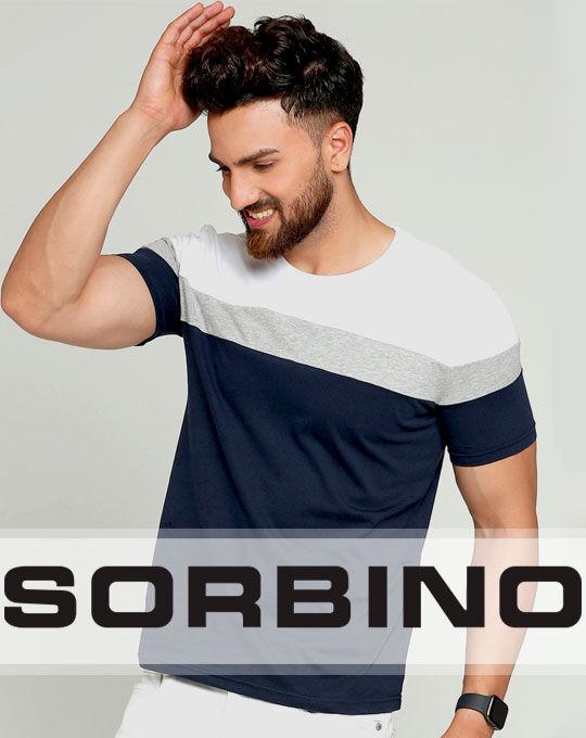 Мужские футболки  SORBINO