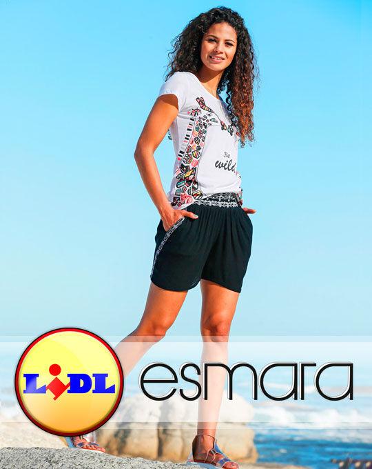 Женские летние шорты ESMARA