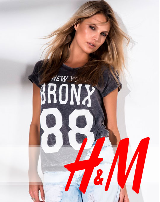 Микс футболки  H&M