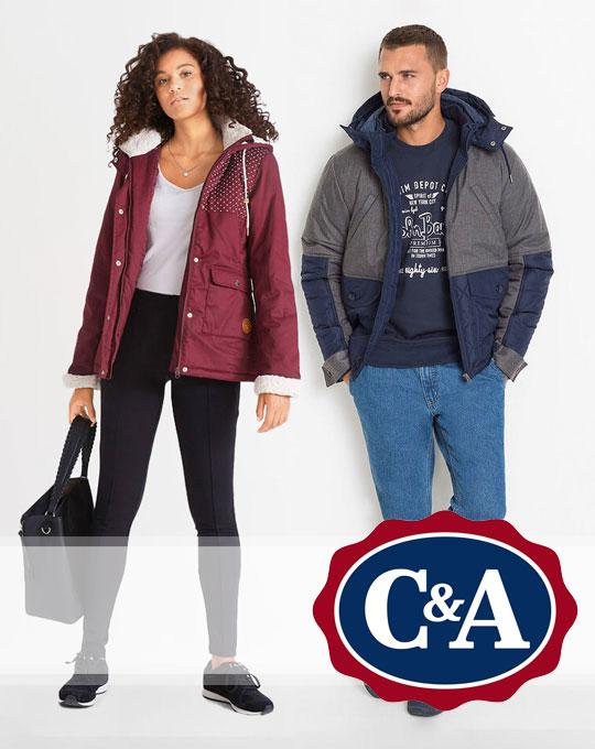 Микс куртки C&A